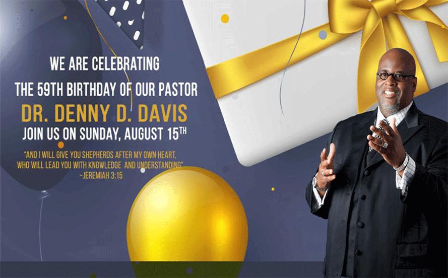 Pastor Birthday