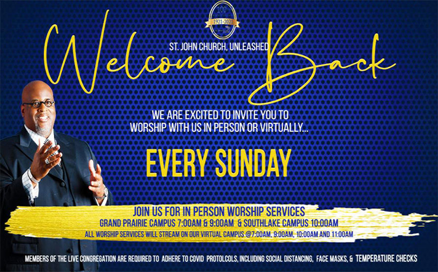 Welcome Every Sunday